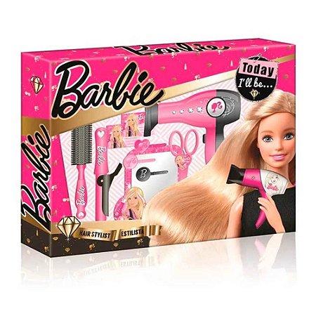Barbie Hairstylist Kit Escova - BR815