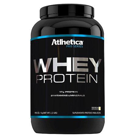 Whey Protein Pro Series 1 Kg- Sabor Baunilha - Atlhetica Nutrition