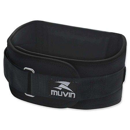 Cinturão de Musculação – CMS-100 - Preto - Muvin