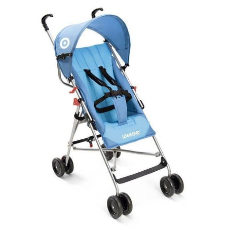 Carrinho De Bebê Guara-chuva Weego Way Azul Weego - BB507