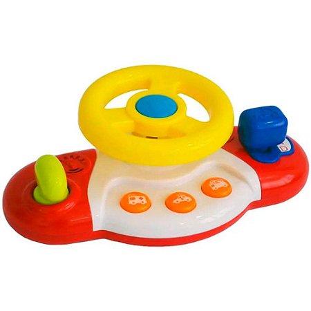 Volante Meu Primeiro Brinquedo Interativo Alimentação por
