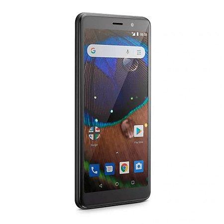 Smartphone Multilaser NB732 MS50X 4G Quad Core 1GB RAM - PRETO