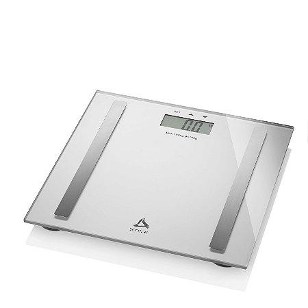 Digi-health Pro Balanca Digital Multifuncoes Prata  - Serene