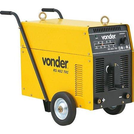 Maquina De Solda Retificador 400 A Rs 402 Trifásico - Vonder