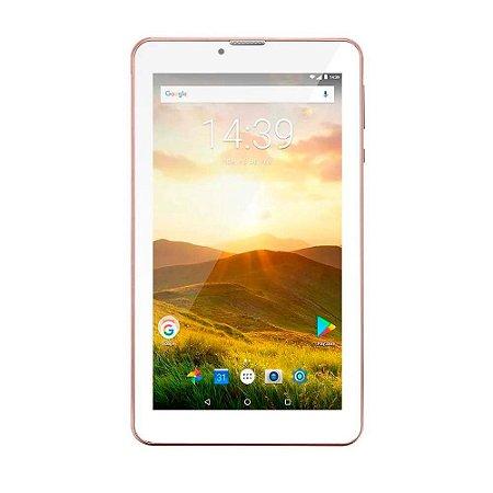 Tablet M7 - 4G Plus Quad Core 1 Gb De Ram Câmera Tela 7 - Rosa