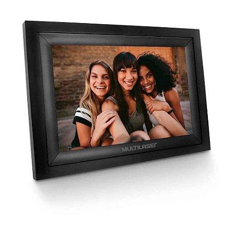 Porta Retrato Digital com Wi-Fi LCD 7 Polegadas Touch Entradas USB