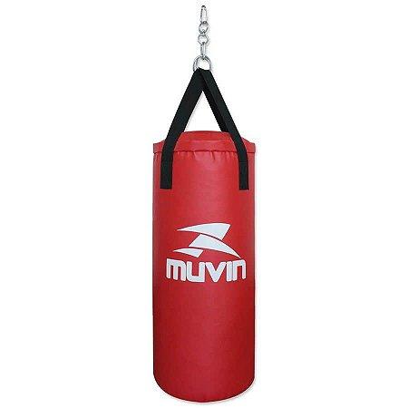 Saco de Pancada 70cm x 30cm – SCP-100 - Vermelho - Muvin