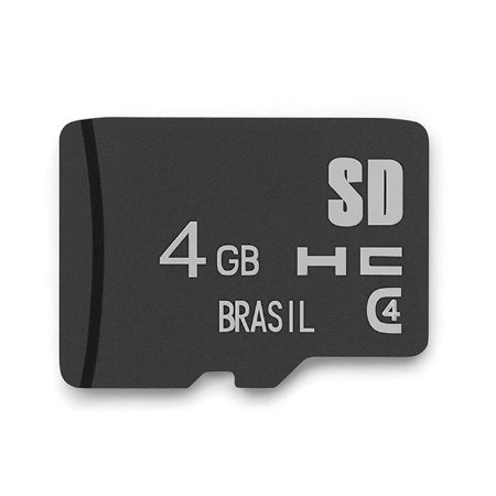 Cartão de Memória Classe 4 4GB Multilaser - MC144