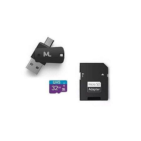 Cartão de Memória Ultra High Speed-I 32GB Até 80 MB/s de