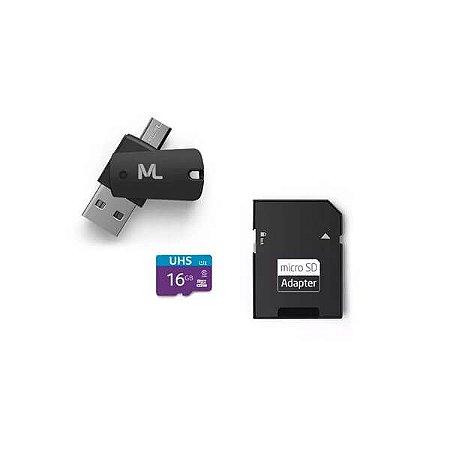 Cartão de Memória Ultra High Speed-I 16GB Até 80 MB/s de