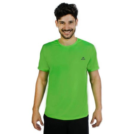 Camiseta Color Dry Workout SS CST-300 - Masculino - P - Verd