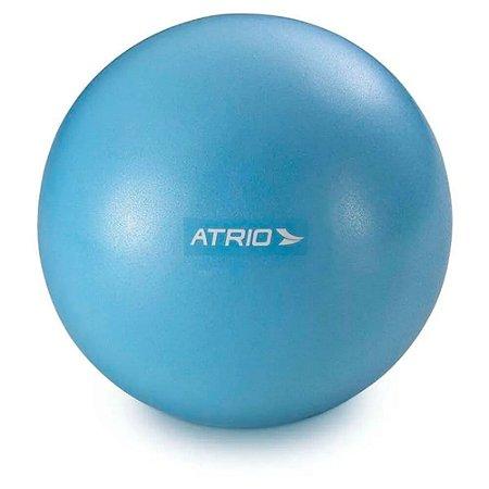 Mini Bola Fitness para Exercícios Material PVC Antiderrapante - AZUL