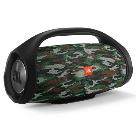 Caixa de Som Portátil JBL Boombox Bluetooth à Prova d'água - Camuflada
