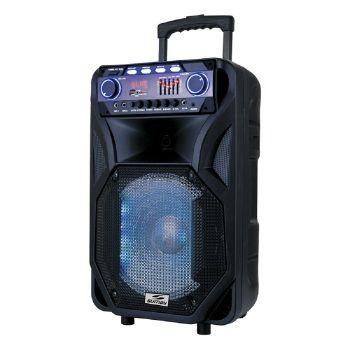 CAIXA DE SOM SUMAY 800W BLUETOOTH 1 MICROFONE CONT - SM-CAP1