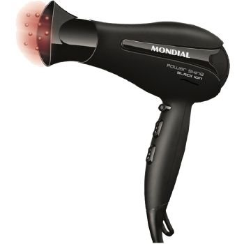 SECADOR MONDIAL1875W POWER SHINE BLACK - 110V