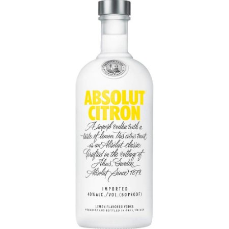 Vodka Absolut Citron - 750ml