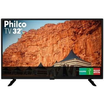 TV 32P PHILCO LED HD USB HDMI