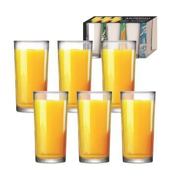 CONJUNTO DE COPOS LONG DRINK RUVOLO 6 UNIDADES - 255ml CADA
