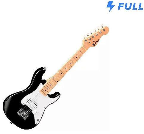 Guitarra Profissional Phx Infantil Stratocaster Jr - Preta