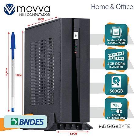 MINI COMPUTADOR PENTIUM G4560 3.5GHZ MB GIGABYTE H110TN-M ME