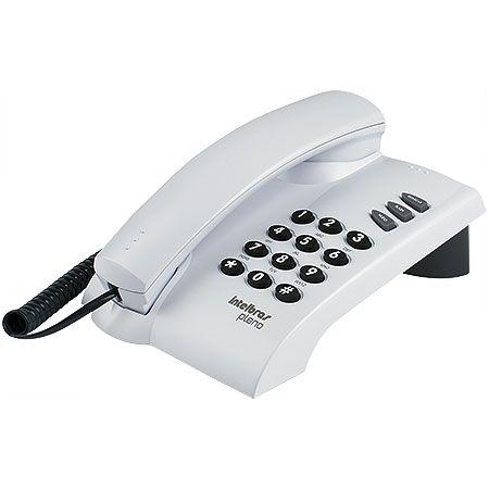 TELEFONE PLENO CINZA ÁRTICO - SINALIZAÇÃO DE LINHA: PULSO