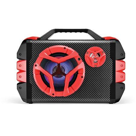 CAIXA MULTIUSO 6 EM 1 USB/SD/FM/BT 100W, COM BATERIA INTERNA