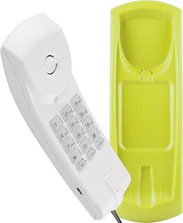 TELEFONE GÔNDOLA COLOR TC 20 CINZA ÁRTICO/VERDE- FUNÇÕES