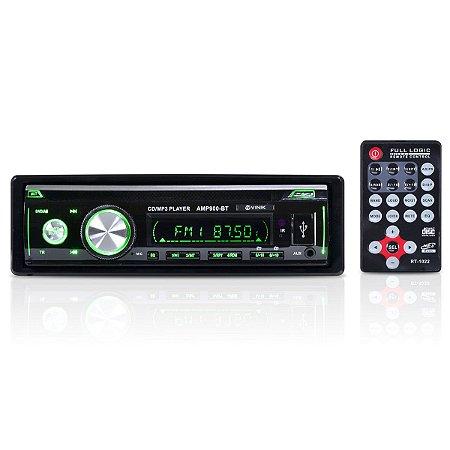 SOM AUTOMOTIVO AUTO RÁDIO MP3 PLAYER USB/SD/FM/AUX/BLUETOOT