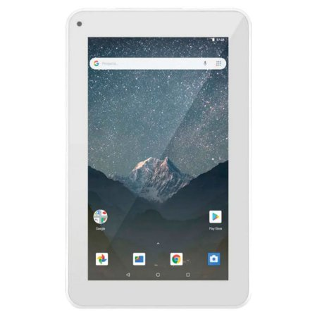 TABLET M7S GO WI-FI 7 POL. 16GB QUAD CORE ANDROID 8.1 - BRANCO