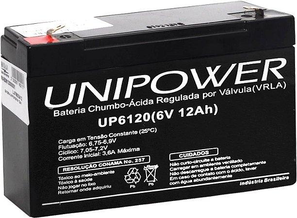BATERIA 6V 12AH (UP6120)