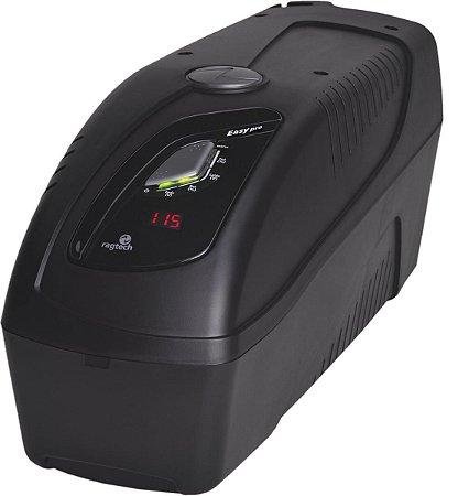 NOBREAK EASY JET 1600VA CBU USB BLACK ENTRADA TRIVOLT SAIDA