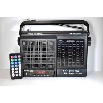 RADIO MOTOBRAS 7 FAIXAS BLUETOOTH USB AM/FM/OC  - 9698-2