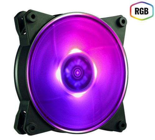 FAN PARA GABINETE MASTERFAN PRO 140MM AIR FLOW RGB - MFY-F4D