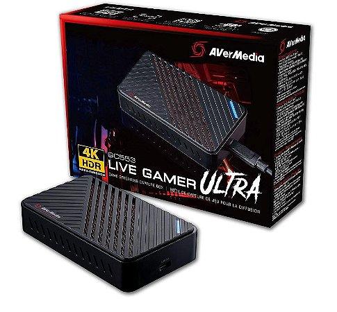 PLACA DE CAPTURA 4K LIVE GAMER ULTRA AVERMEDIA GC553