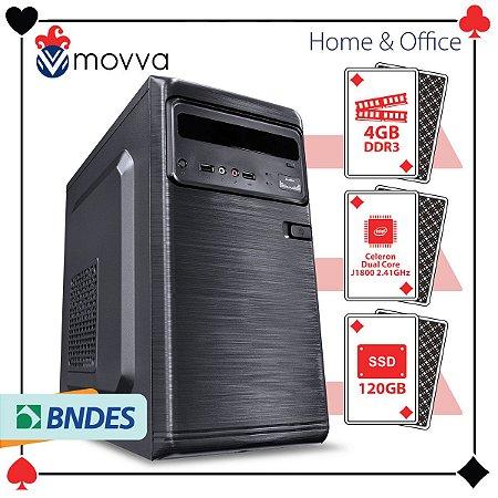 COMPUTADOR LITE INTEL DUAL CORE J1800 2.41GHZ MEMÓRIA 4GB S