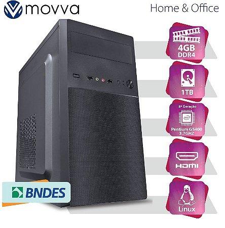 COMPUTADOR IRON PENTIUM G5400 3.7GHZ 8ª GER. MEM. 4GB HD 1T