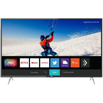 SMART TV 50P AOC LED SMART 4K WIFI USB HDMI