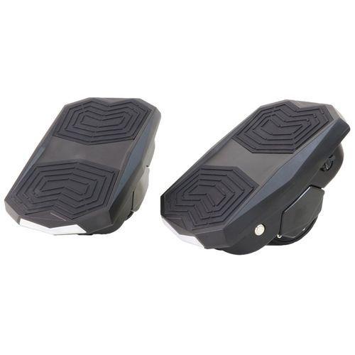 Scooter Hovershoes com LED e Roda de 3.5 - Preto
