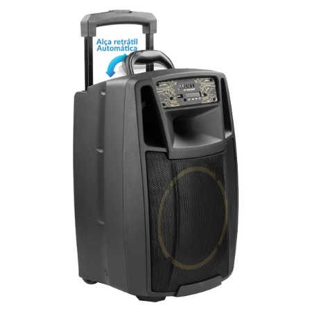 CAIXA AMPLIFICADA MULTIUSO USB/FM/BT 200W CF-400 APP