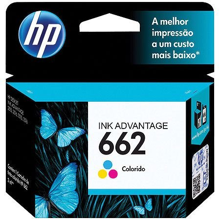 CARTUCHO CZ104AB HP 662 TRICOLOR
