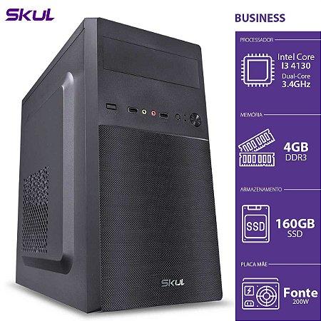 COMPUTADOR BUSINESS B300 - I3-4130 3.4GHZ 4GB DDR3 SSD 160GB
