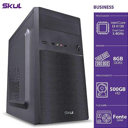 COMPUTADOR BUSINESS B300 - I3-4130 3.4GHZ 8GB DDR3 HD 500GB