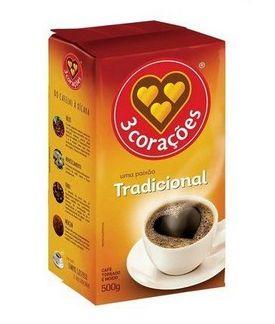 Café 3 Corações Tradicional a Vácuo - 500g
