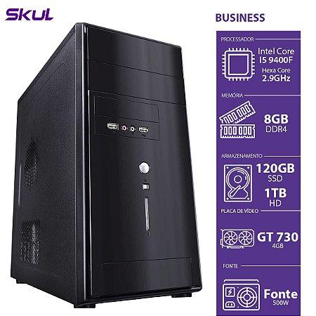 COMPUTADOR BUSINESS B500 - I5-9400F 2.9GHZ 8GB DDR4 SSD 120G