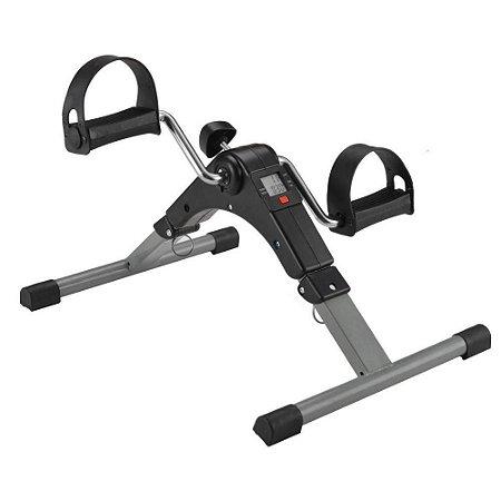 Mini Bicicleta Cicloergômetro Exercício Sentado Para Fisioterapia Portátil