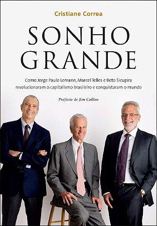 Livro Sonho grande (Português) - Capa comum