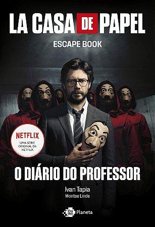 Livro La casa de papel: O diário do professor (Português) Capa comum