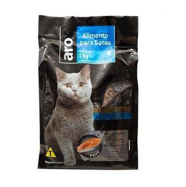 Ração para Gatos Sabor Peixe PREMIUM ADULTO  - 1kg