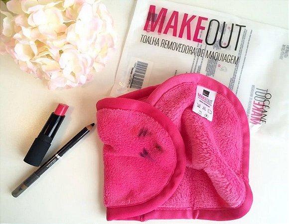 Makeout - Toalha Removedora De Maquiagem Pink - Océane
