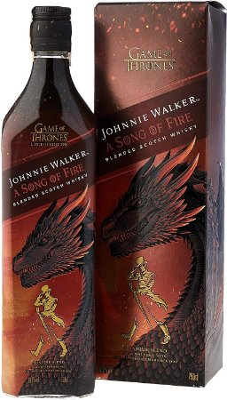 Whisky Johnnie Walker Song of Fire - 750 ml
